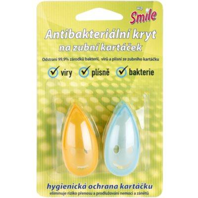 antibakterielle Abdeckung für die Zahnbürste