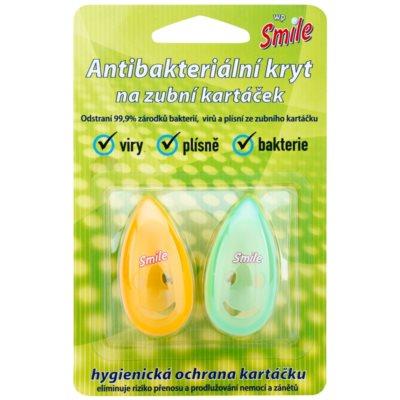White Pearl Smile antibakteriális fedő fogkefére