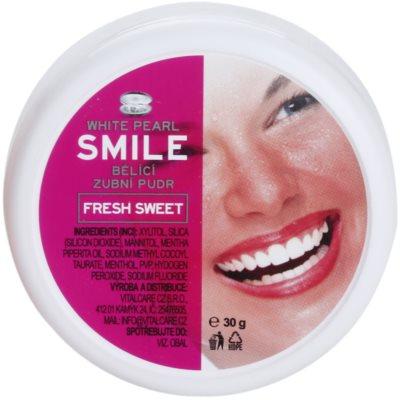 bělicí zubní pudr