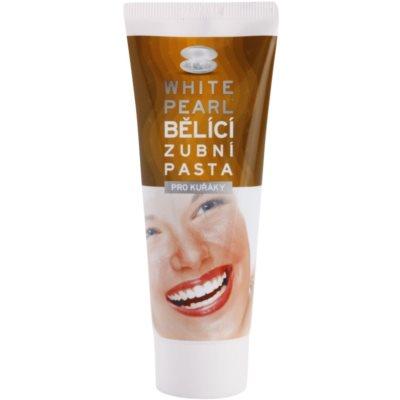 White Pearl Whitening λευκαντική οδοντόκρεμα για καπνιστές