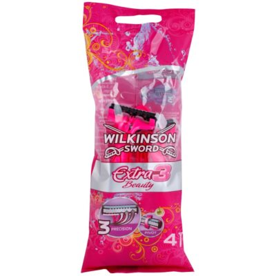 Wilkinson Sword Extra 3 Beauty одноразова бритва, 4 шт