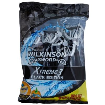 Wilkinson Sword Xtreme 3 Black Edition Wegwerp Scheermessen 10st.