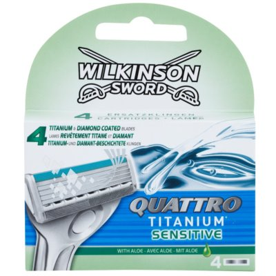 Wilkinson Sword Quattro Titanium Sensitive Резервни остриета