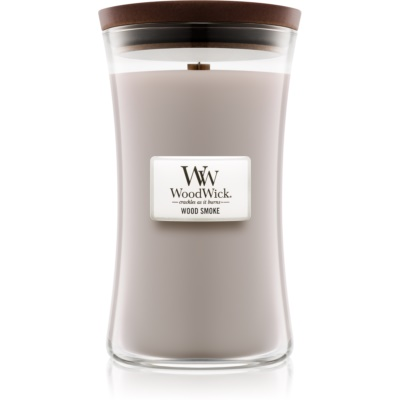 Woodwick Wood Smoke Scented Candle  Large