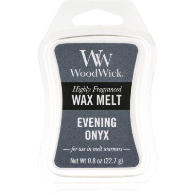 Woodwick Evening Onyx wax melt