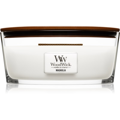 Woodwick Magnolia Scented Candle  Hearthwick