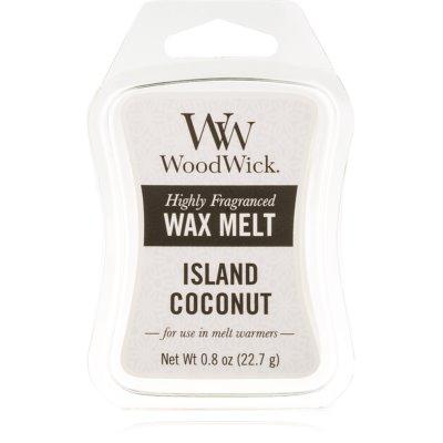 Woodwick Island Coconut cera para lámparas aromáticas 22,7 g