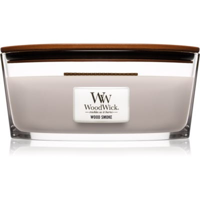 Woodwick Wood Smoke bougie parfumée  Hearthwick