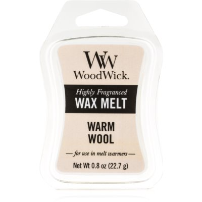 Woodwick Warm Wool vosk do aromalampy