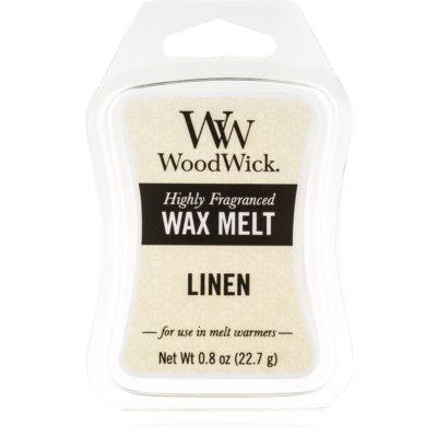 Woodwick Linen vosk do aromalampy 22,7 g