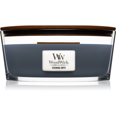 Woodwick Evening Onyx bougie parfumée  Hearthwick