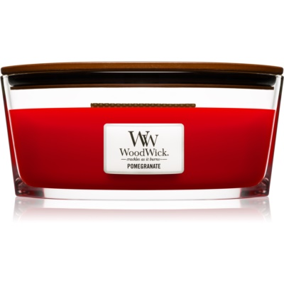 Woodwick Pomegranate bougie parfumée  Hearthwick