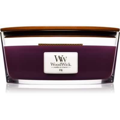 Woodwick Fig Scented Candle  Hearthwick