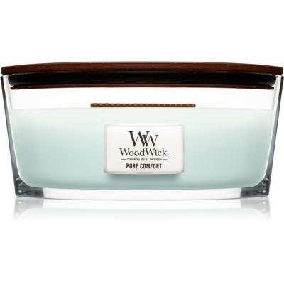 Woodwick Pure Comfort bougie parfumée  avec mèche en bois (Hearthwick)