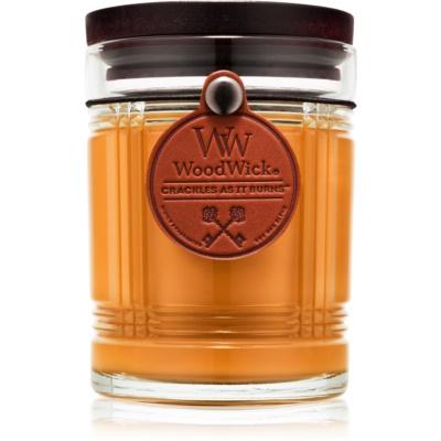 Woodwick Reserve Teakwood dišeča sveča  226,8 g