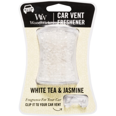 Woodwick White Tea & Jasmin aроматизатор за автомобил   с клипс