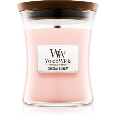 Woodwick Coastal Sunset vela perfumada   mediano