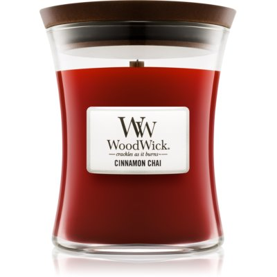 Woodwick Cinnamon Chai Scented Candle  Medium