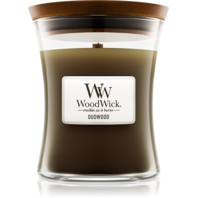 Woodwick Oudwood Geurkaars r Medium