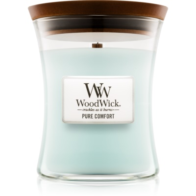 Woodwick Pure Comfort Geurkaars r Medium