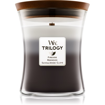 Woodwick Trilogy Warm Woods Scented Candle  Medium