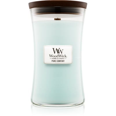 Woodwick Pure Comfort candela profumata  grande