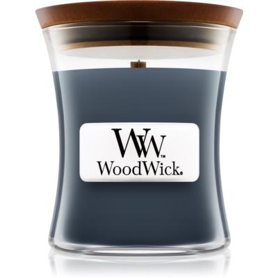 Woodwick Evening Onyx ароматизована свічка   з дерев'яним гнітом