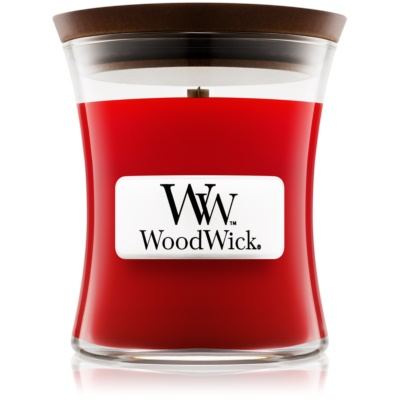 Woodwick Pomegranate Scented Candle  mini