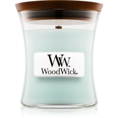 Woodwick Pure Comfort mirisna svijeća  s drvenim fitiljem