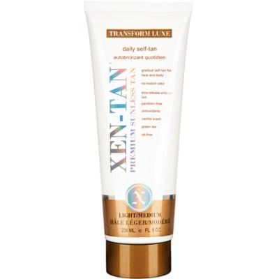 Xen-Tan Light krema za samotamnjenje za lice i tijelo za postupno tamnjenje tena