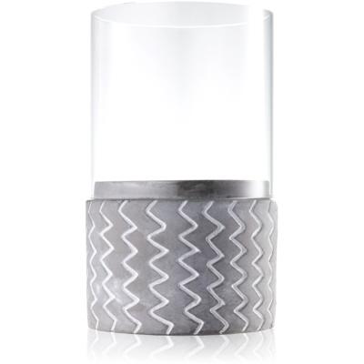 ceramiczny świecznik na sampler    I.