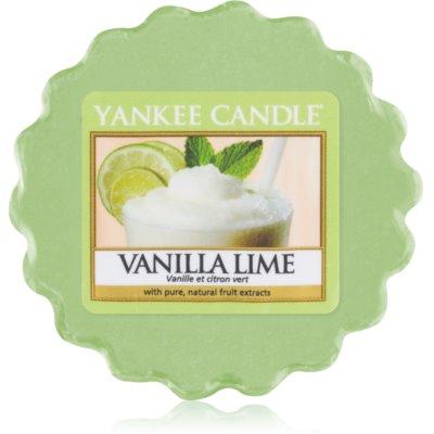 Yankee Candle Vanilla Lime cera per lampada aromatica