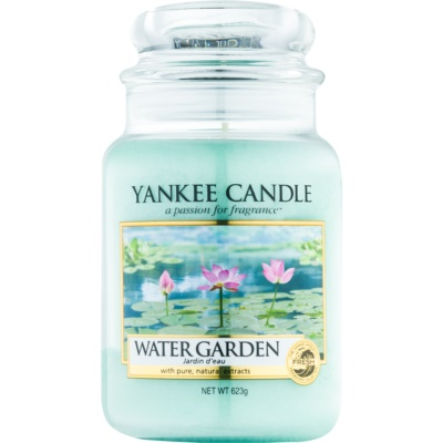 Yankee Candle Water Garden Scented Candle  Classic Large