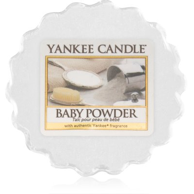 Yankee Candle Baby Powder vosk do aromalampy