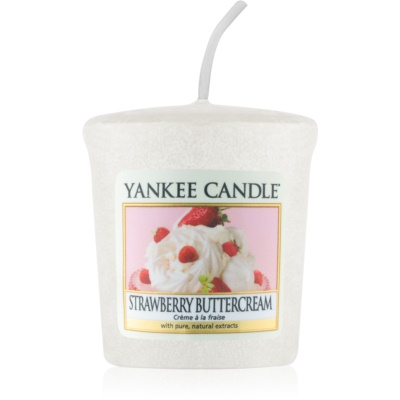 Yankee Candle Strawberry Buttercream votivní svíčka