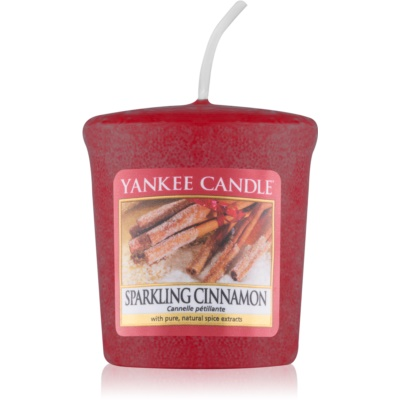 Yankee Candle Sparkling Cinnamon Votive Candle