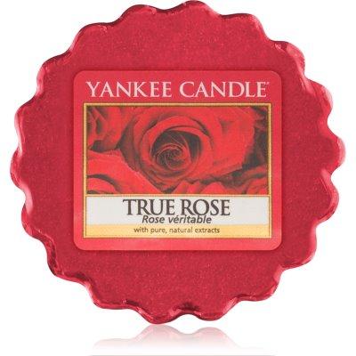 Yankee Candle True Rose tartelette en cire