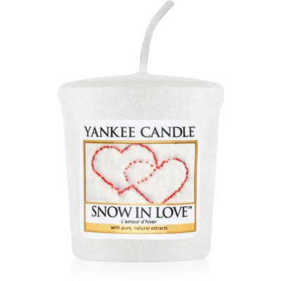 Yankee Candle Snow in Love votiefkaarsen