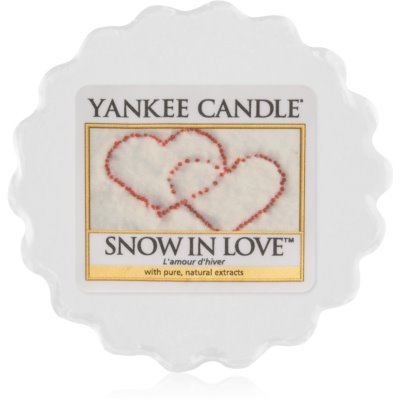 Yankee Candle Snow in Love vaxsmältning