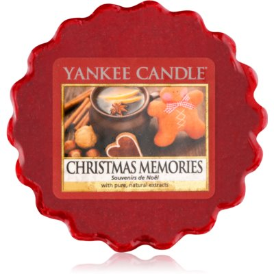 Yankee Candle Christmas Memories vaxsmältning