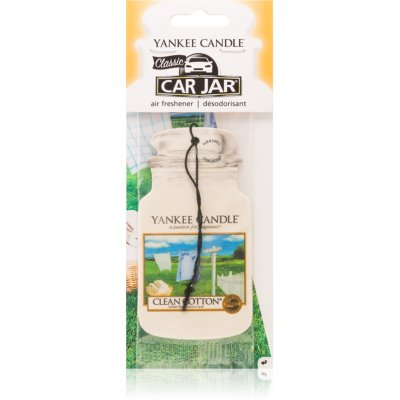 Yankee Candle Clean Cotton ambientador para carro