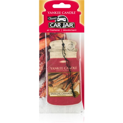 Yankee Candle Sparkling Cinnamon Hanging Car Air Freshener