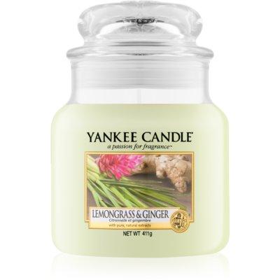 Yankee Candle Lemongrass & Ginger candela profumata  Classic media