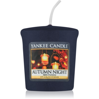 Yankee Candle Autumn Night vela votiva