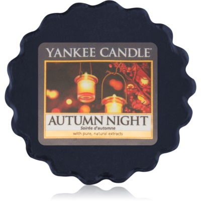 Yankee Candle Autumn Night Wachs für Aromalampen