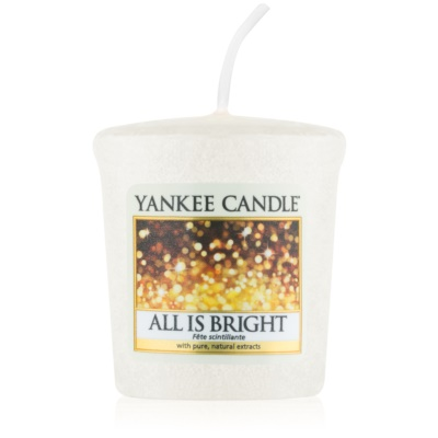 Yankee Candle All is Bright Votive Candle
