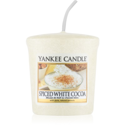Yankee Candle Spiced White Cocoa lumânare votiv