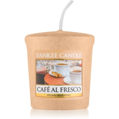 Yankee Candle Café Al Fresco votivna sveča
