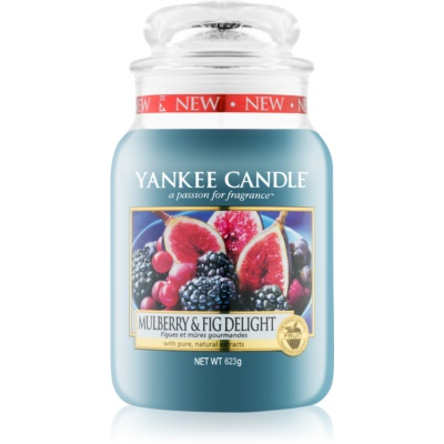 Yankee Candle Mulberry & Fig Scented Candle  Classic Large