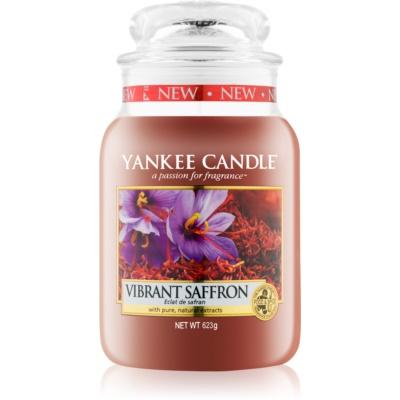 Yankee Candle Vibrant Saffron vela perfumada  623 g Classic grande